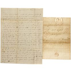 IL,Jacksonville-Morgan County,Letter Regarding Mormons, Harrison's Death, etc
