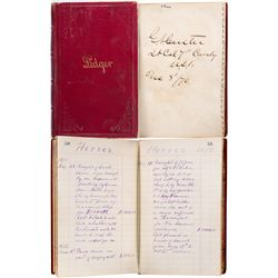 KS,Ft. Riley-,General George Armstrong Custer Ledger