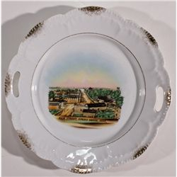 MN,Spring Grove-Houston County,Early Minnesota Souvenir Plate