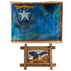 NV,-,Nevada Flag and E Pluribus Unum Paintings