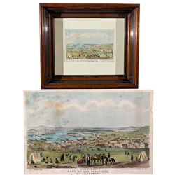 CA,San Francisco County-,San Francisco 1849 Framed Print