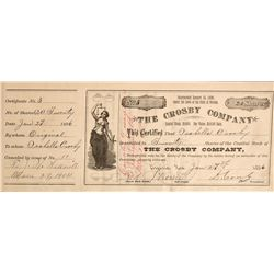 NV,Virginia City-Storey County,Crosby Stock Certificate