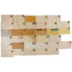 CA,-Calaveras County,Calaveras Postal Covers & Wells Fargo Covers Collection