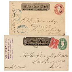 CA,Alturas, Susanville-,Wells Fargo Cover Duo