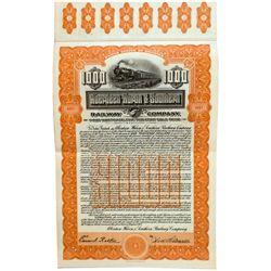 Dakota South,-,Aberdeen- Huron & Southern Railway Co. Bond