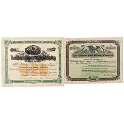 MN,-,The Duluth, Huron & Denver Railway Company Stock Certificates