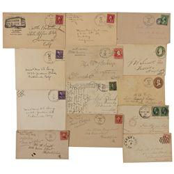 CA,Smith Flat, Fairplay, Quintette-El Dorado County,El Dorado Postal Covers Group
