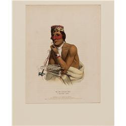 Wa-Em-Boesh-Ka, a Chippeway Chief Lithograph