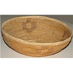 Mono Large Twined Basket Bowl
