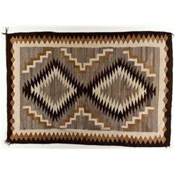 Two Gray Hills Navajo Rug