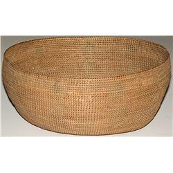 Washoe Large Wicker Twined Storage Basket