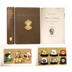 AZ - Bureau of Ethnology, Navajo, Cherokee and Zuni 1883-1884 (Fifth Annual Report)
