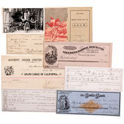 NV,-Clark County,Clark County Mining Stock Certificate and Ephemera Collection