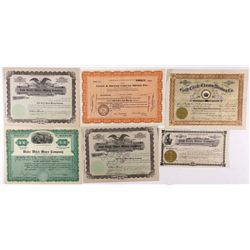 NV,Gold Circle-Elko County,Rare Gold Circle Stock Certificates
