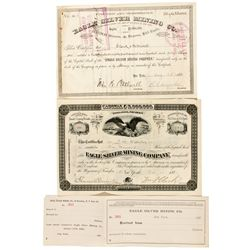 NV,Lander County-,Eagle Mining Company Stock Certificates