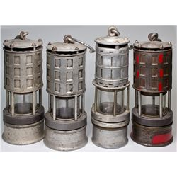Miner's Flame Safety Lamps
