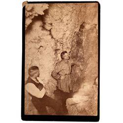 CA,Calaveras County-,Miners in Calaveras Grotto