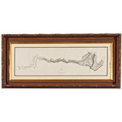 CA,Coloma-El Dorado County,Early California Explorations Expedition Map