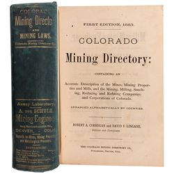 CO,-,Colorado Mining Directory 1st Edition