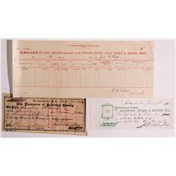 MT,Virginia City-Madison County,Montana Mining Documents *Territorial*