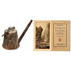 NV,Austin-Lander County,Tin Underground Teapot Lamp