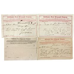 NV,Virginia City-Storey County,Telegram Collection Re: Comstock Acquisitions