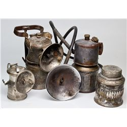 NY,-,Wolf and Justrite Carbide Lamp Group