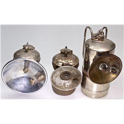 NY,Brooklyn-,Miners' Carbide Lamp Trio