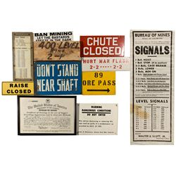 Mine Sign Collection