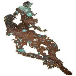 MI,-,Large Crystalline Copper Specimen