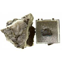 MT,Troy-Lincoln County,Native Silver, Bornite, and Quartz