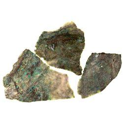 NV,-Nye County,Electrum Ore Slabs from Old Bullfrog Mine