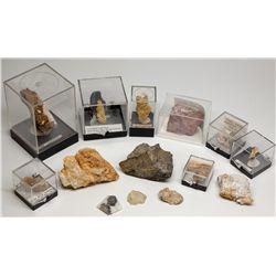 NV,-Humboldt County,Humboldt County Gold Specimens Assortment
