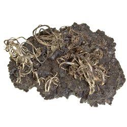 Morocco-,Moroccan Silver Wire Specimen
