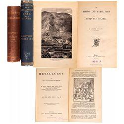 UK - London, England-,Metallurgy Books Pair