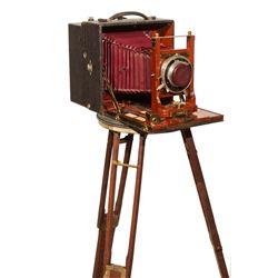 Century Grand Senior with Cirkut camera back by Century
