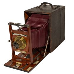 Cirkut #10 by Rochester Panoramic Camera Co. First Model