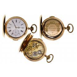 ,France-,Swiss Made English Chronograph Pocket Watch