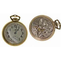 OH,Cleveland-,Ball RR Standard Pocket Watch 999B in Original Box