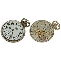 """OH,Cleveland-,Ball Watch Co. By """"Hamilton"""" 21J 999B Type 2"""