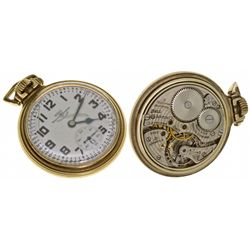 OH,Cleveland-,16 Size, 21J Ball Watch Co. 999B Type 2