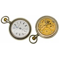OH,Columbus-,18 Size Columbus Watch Company 15 J Pocket Watch