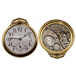 IL,Chicago-,Elgin 16 Size, 21 Jewel Father Time Pocket Watch