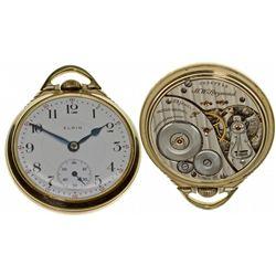 IL,Chicago-,Elgin 16 Size, 23 Jewel B.W. Raymond Pocket Watch