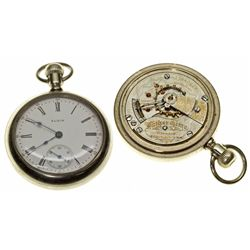 IL,Chicago-,Elgin 18 Size, 21 Jewel Father Time Pocket Watch