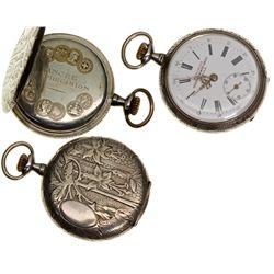,Manila, Philippines-,Greilsammer Bros Meridian Pocket Watch