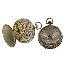 PA,Lancaster-,12 Size Hamilton 19 Jewel Open Face Pocket Watch