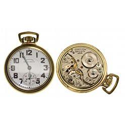 PA,Lancaster-,16 Size Hamilton 21J Railway Special Pocket Watch 992B