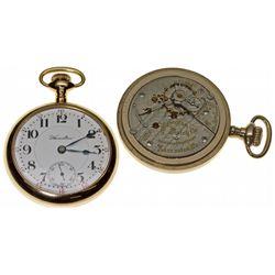 PA,Lancaster-,18 Size Hamilton 21J Railroad Pocket Watch
