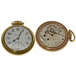 PA,Lancaster-,18 Size Hamilton 21J Railroad Pocket Watch, 940 Model